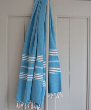 Ottomania hammam towel Large brightblue 1596