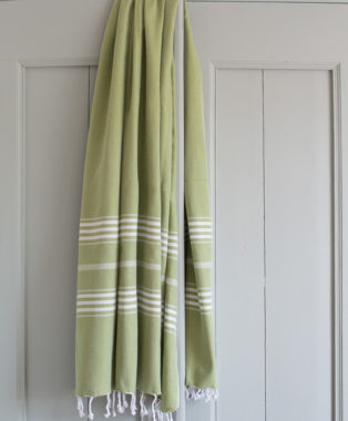 Ottomania hammam towel Large moss green 1849