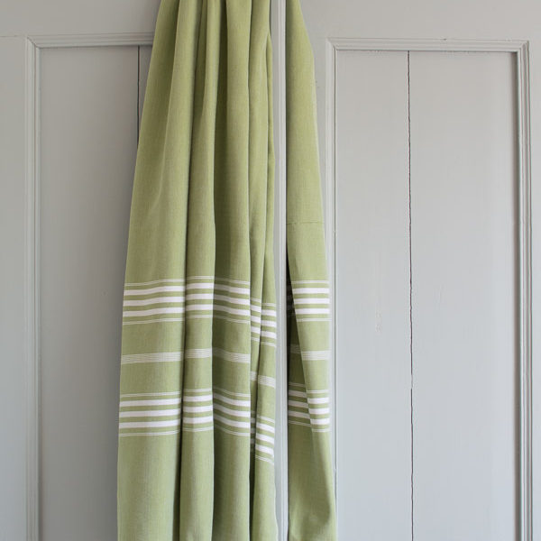 Ottomania hammam towel Large moss green 1849