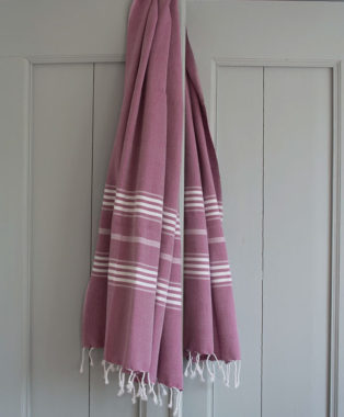 Ottomania hammam towel Large raspberry 1605
