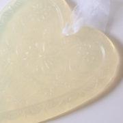 glycerine soap heart jasmine detail 877