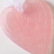 glycerine soap heart rose 3 80
