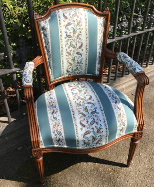Beautiful-Antique-French-Walnut-Chair