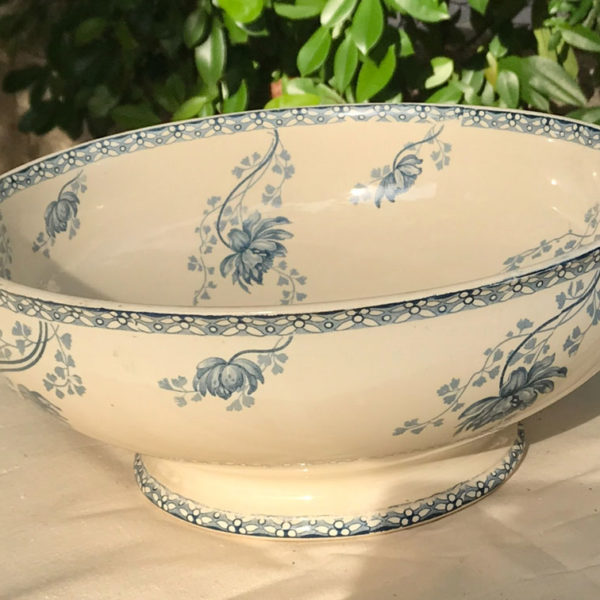 Large-French-China-Blue-&-Off-White-Bowl