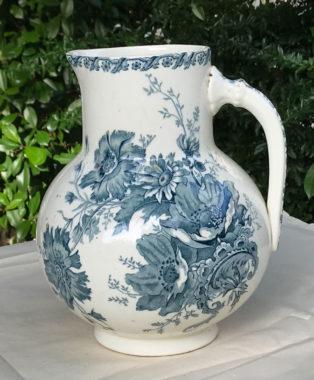 Lge-Blue-Creamware-Jug
