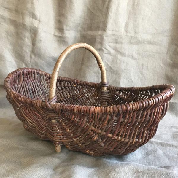 Old-Handmade-Willow-Basket