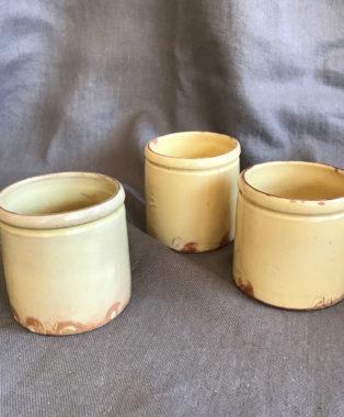 Small-Terracotta-creamware-preserve-pots