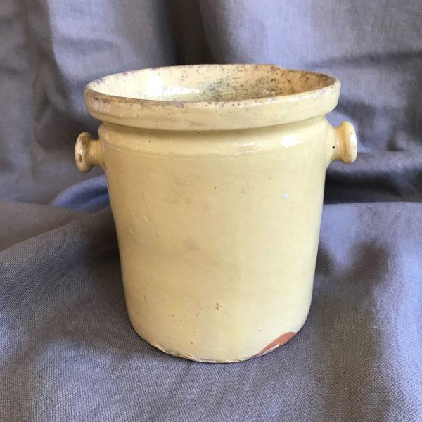Terracotta-Creamware-Pot-with-Handles