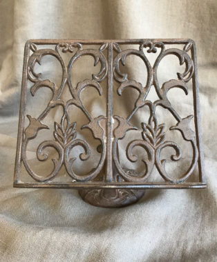 Wrought-Iron-Adjustable-Book-Stand