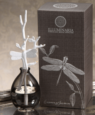 Illuminaria Porcelain Stem Diffuser-Essence of Jasmine